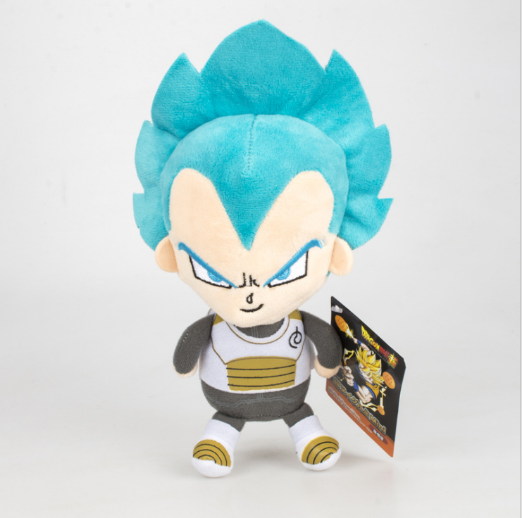 Hot selling Dragon ball Super Saiyan wukong vegeta pluche speelgoed