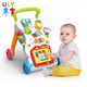 China Sit-To-Stand Trolley Indoor Simple Learning Walking For Kid Adjustable Baby Walker