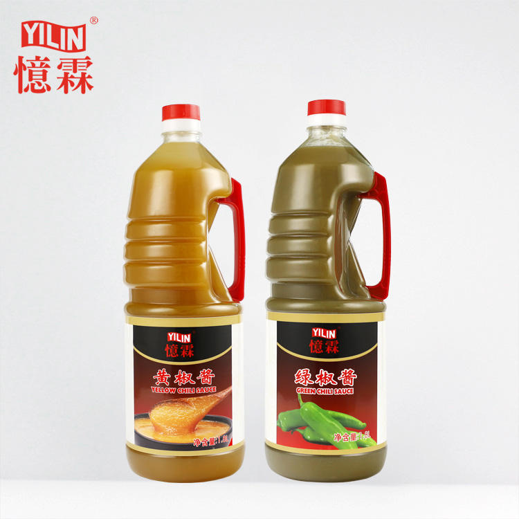 735ml Yellow Chili Sauce by Chinese manufacturer