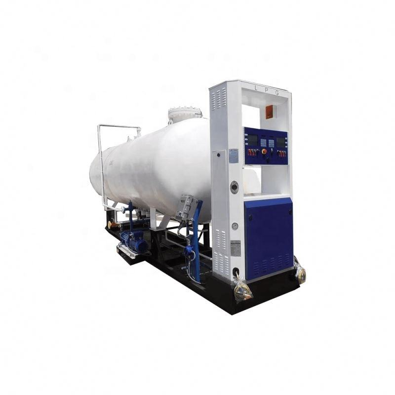 LPG storage tank factory price 10m3 LPG propane gas refill station