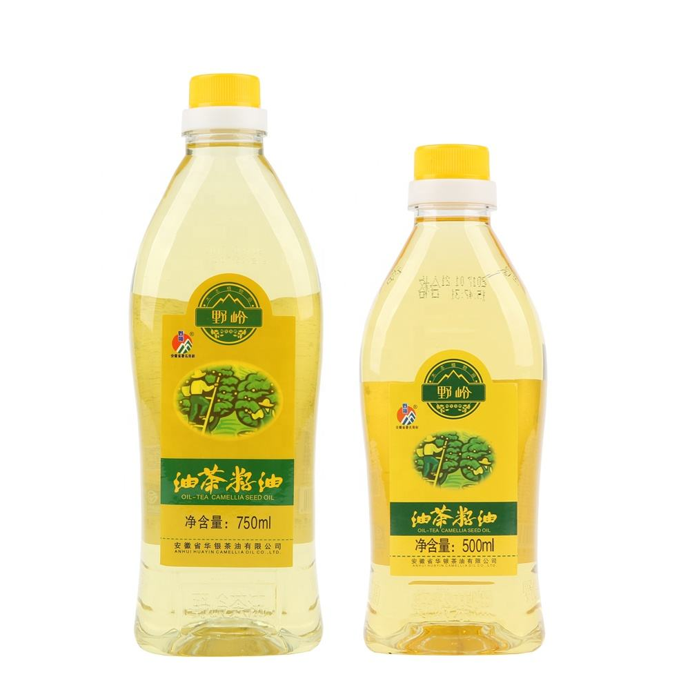 Hot Sale Korea Health Care Cold Pressed Original Edible Organic Camellia Seed Oil Supplier