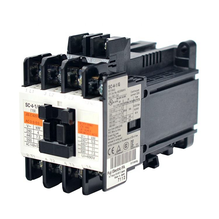 3 Phase SC Series 230V 9A Electrical Ac Contactor Cn18