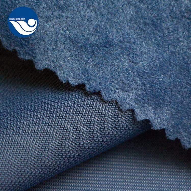 100% Polyester Brushed Tricot Speckled Velvet Sofa Fabric Aloba Fabric For Upholstery