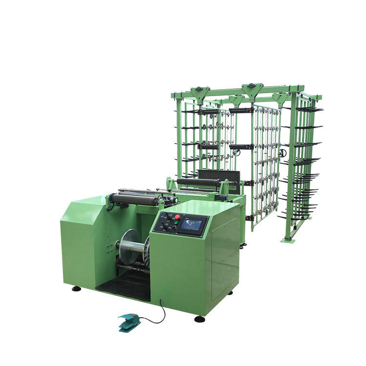 Narrow fabric weaving warp machine,warping machine for elastic yarn