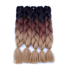 Cheap braids Hair synthetic hair weave Synthetic Braiding Hair Extensions Jumbo Crochet Braids