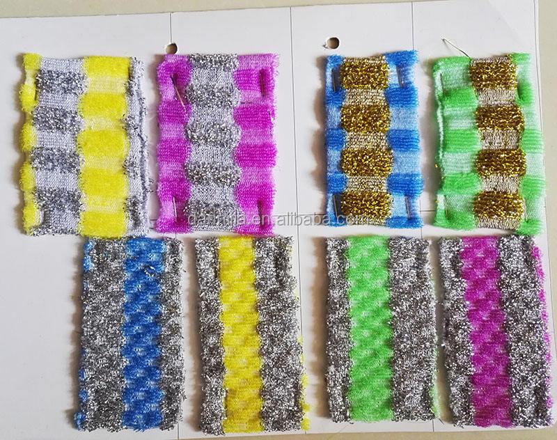 Günlük tüketici ürünleri çanak scrubber tekstil hammaddeleri