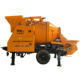 Good Powerful Mobile Trailer Concrete Mixer With Water Pump Factory Price