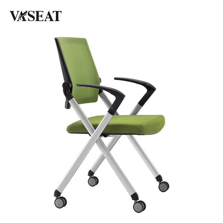 Office conference room stackable training folding chair