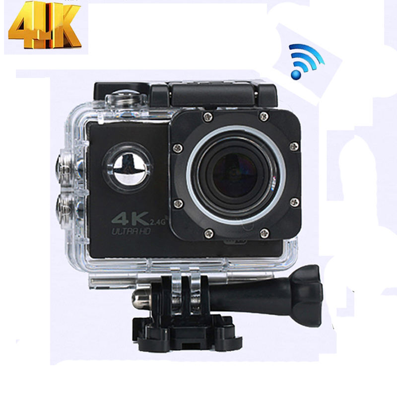 Asli S2/S2R Remote Control 4K WiFi Action Camera Ultra HD 1080P 60Fps Tahan Air Kamera Olahraga kamera