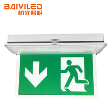 Hot Selling Lighting Double Side Running Man Light 6w Ce Led Emergency Exit Sign