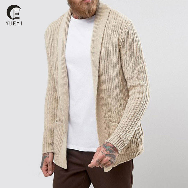 designer clothing manufacturers in china custom mens knitted cardigan in bulk