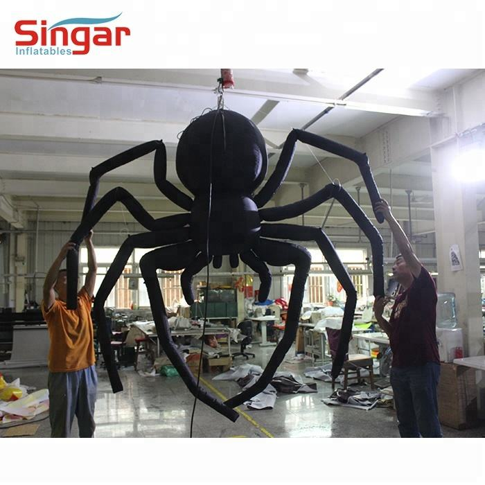 halloween inflatable decorations,inflatable black spider,lawn halloween inflatable