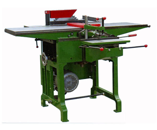 Woodworking combined saw, planer, thicknesser