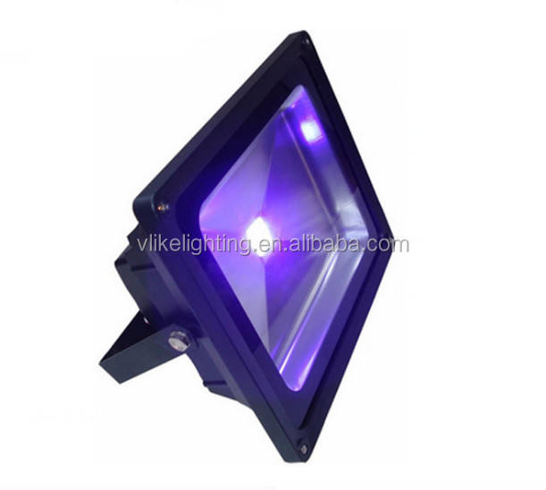 IP65 Outdoor Lighting 10W 50W 150W 500W 100W 360nm 365nm 385nm 395nm 405nm Curing Black Flood Light purple color UV LED Lamp