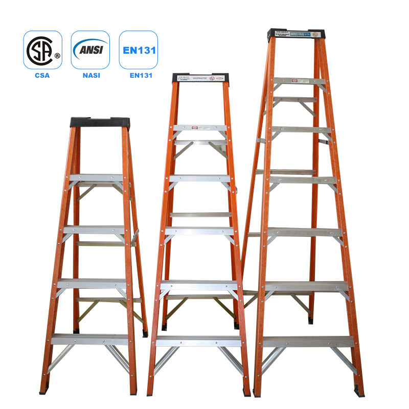 gs best selling metal professional frp household step ladder for household and construction