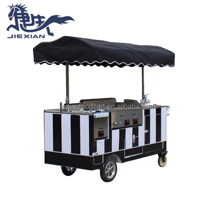 JIEXIAN Mobile Hotdog Food Cart