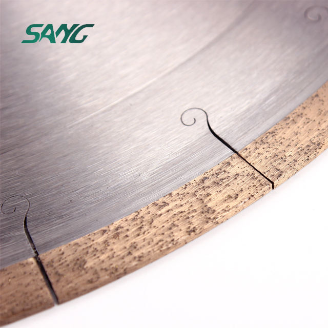 diamond continuous rim saw blades for ceramic porcelain tile dekton