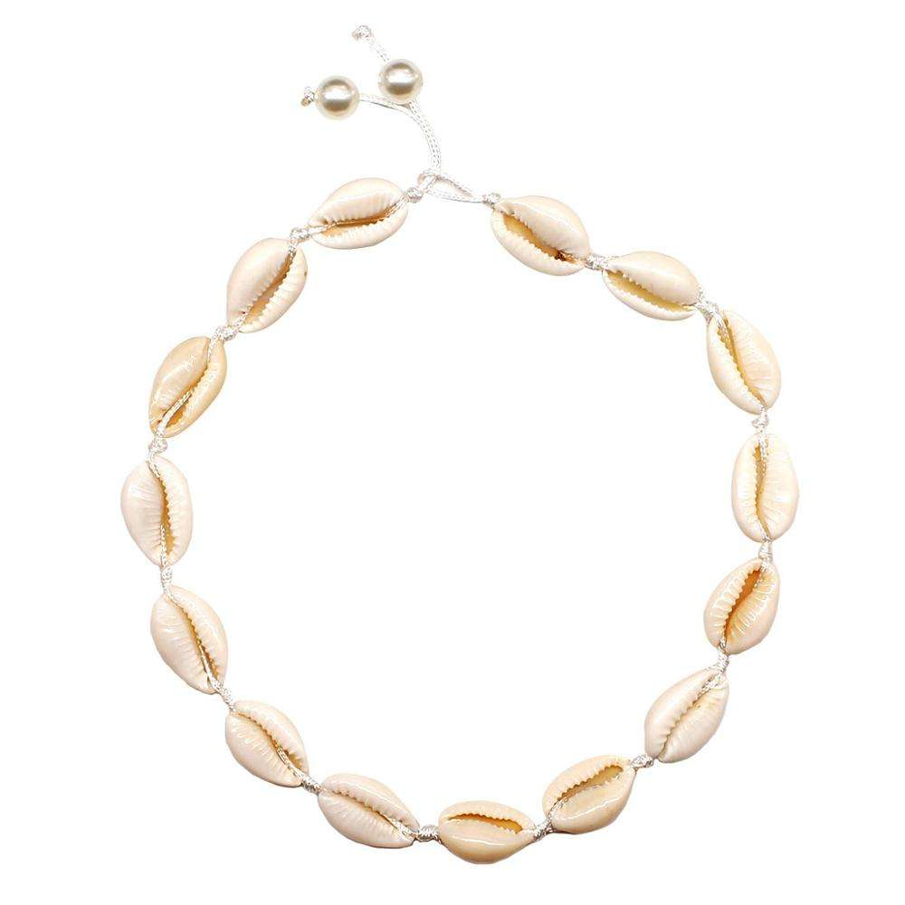 Natuurlijke Puka Shell Ketting Collectie Statement sea Shell Choker <span class=keywords><strong>Hawaiiaanse</strong></span> Ketting Voor Zomer Vrouwen Sieraden Gift