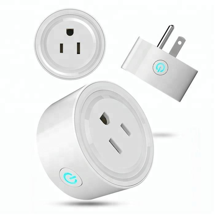 Newest Wholesale Custom 220V Power Energy Wireless Socket Smart Home Tuya Wifi Plug