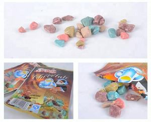 solid sweet coating milk chewy bean candy stone chocolate with various color