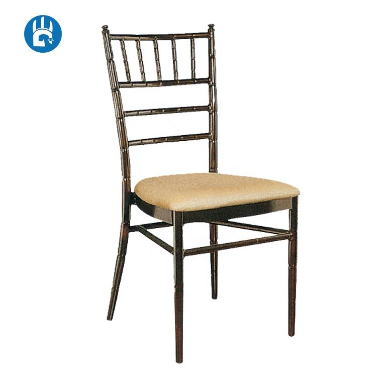 Rental aluminium wedding chivalry chair for events