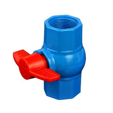 UPVC Pipe And Fittings Plastic Ball Valve