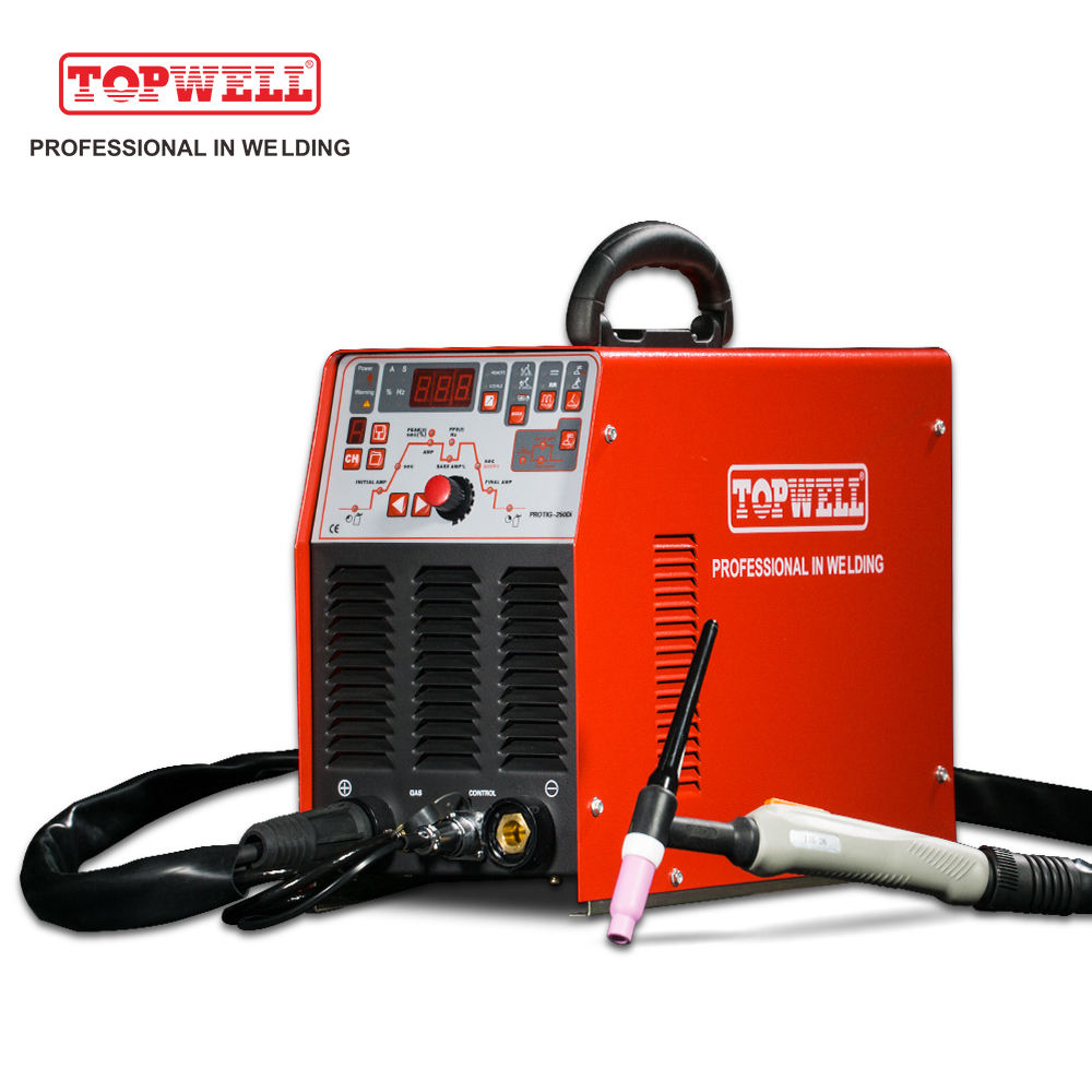 DC heavy duty Stainless steel TIG Welding machine PROTIG-250Di