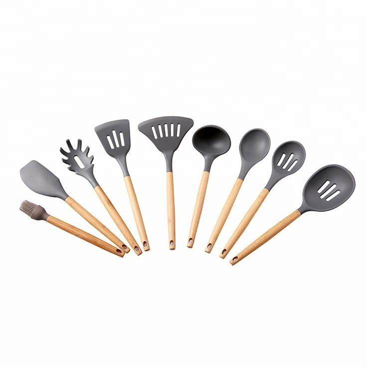 Kitchen Tools Customized Silicone Kitchen Utensil Set Of High Quality Cooking Tools