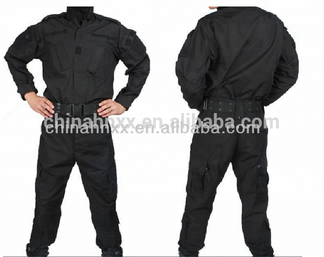 wholesale A C U black tactical uniform military uniform