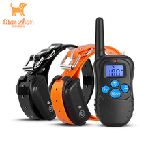Waterproof & Rechargeable Electric Shock Collar for Dogs Remote Pet Training Collar with Beep Vibration