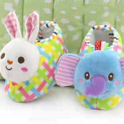 wholesale baby shoes plush animal baby prewalker baby girl s