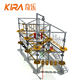 Outdoor Adventure Climbing Rope Course Playground Equipment Kids/Adult Rope Obstacle Course