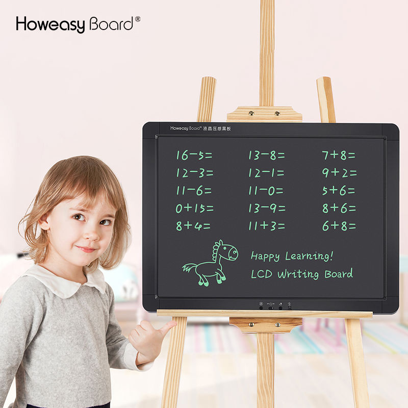 Howeasy office blackboard classroom lcd screen digital magnetic kids blackboard