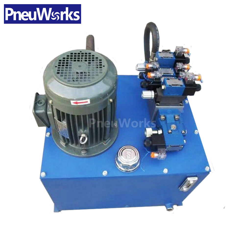 220v 380v 2hp 3hp Hydraulic Power Unit for European Market