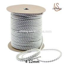Polyester stretch high strength round elastic drawstring cord