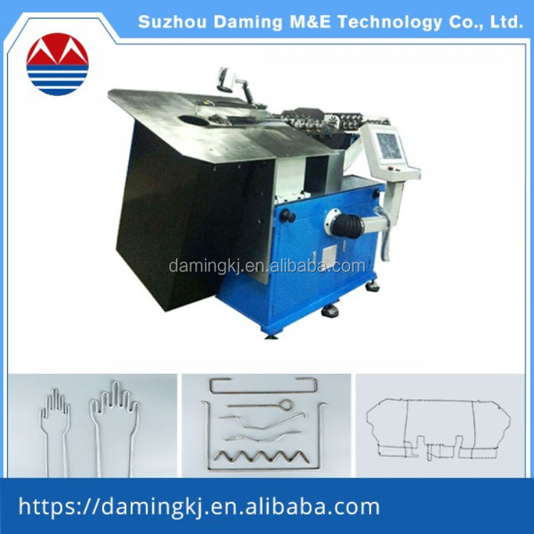 China leading manufactory for all kinds 5A 2D cnc wire bending machine price