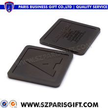 USA Black dyeing process metal business card with custom logo