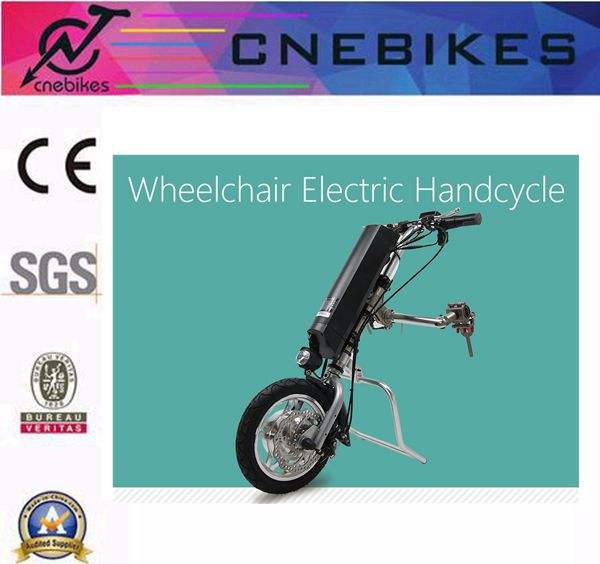250 <span class=keywords><strong>w</strong></span> elettrico sicuro handcycle per e-sedia a rotelle