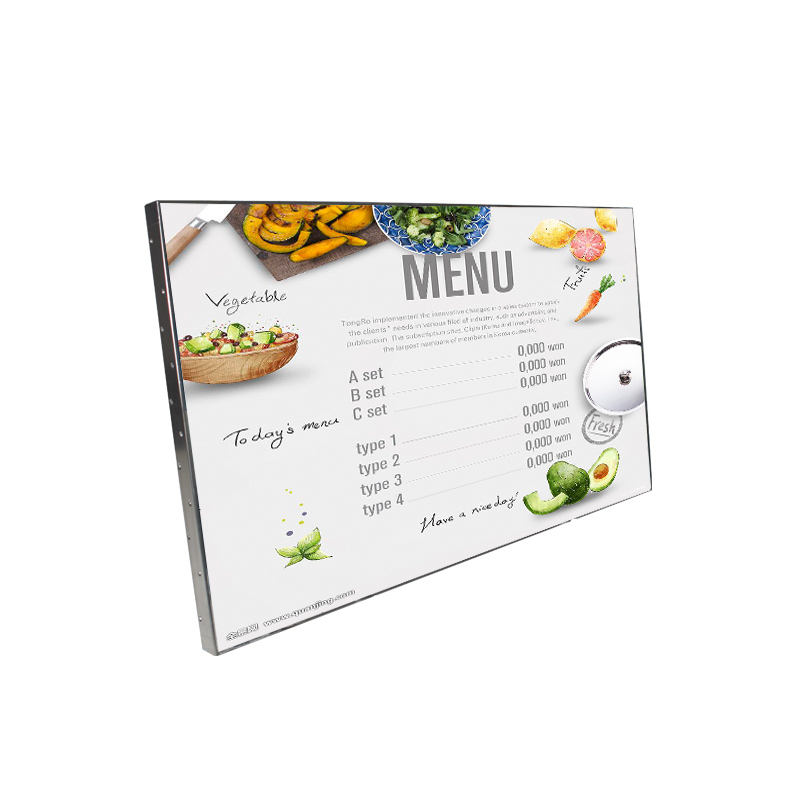 49inch Android LCD Digital Menu Board for Restaurants