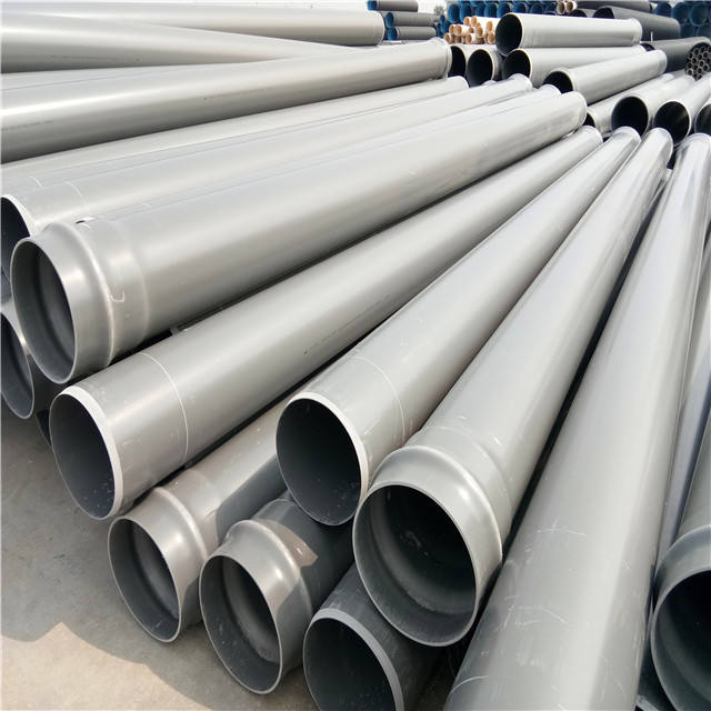 China fabrikant water supply pvc pijp merknamen