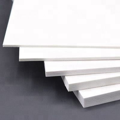 White Waterproof PVC Foam Board Fireproof PVC Sheet PVC Celuka Board