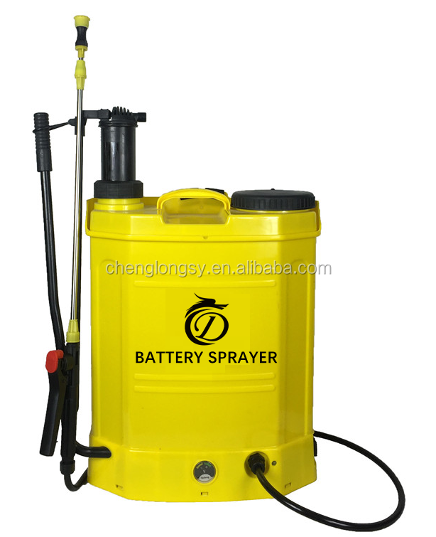 2017 new product 2 in 1 farm battery sprayer