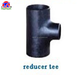A234 WPB ANSI B16.9 SCH40 pipe fitting carbon steel reducing tee with butt welding