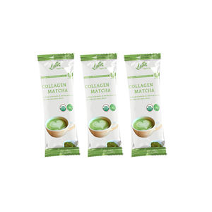 Lifeworth private label Japonya kollajen matcha chai çay latte