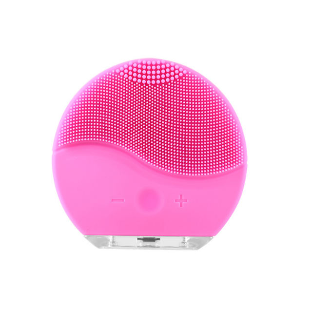 Best Facial Cleansing Brush - Silicone Face Brush Face Massager Gentle Exfoliation and Sonic Cleansing for All Skin Types