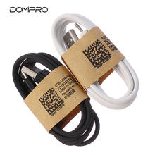 shenzhen bulk long black white pvc 1M 2M 3M usb c charger data line leather durable micro usb cable