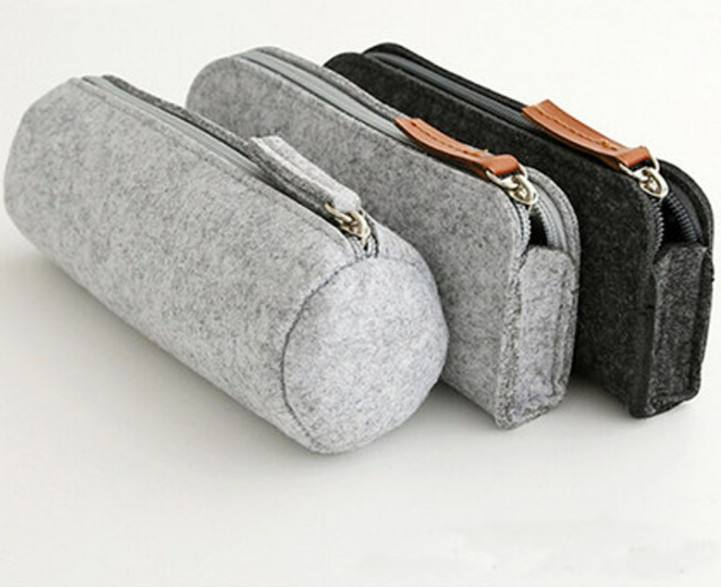 Felt Fashion stationary pencil cases