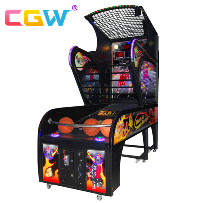 CGW Indoor Arcade Hoops Cabinet Basketball Game/Street Basketball Arcade Game Machine