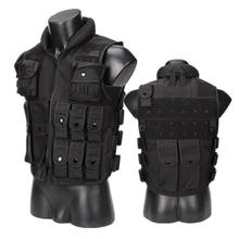 Whole Sale Chinese Factory Price Adjustable Military Army Molle Police Tactical Vest for Shooting and Outdoor Hunting