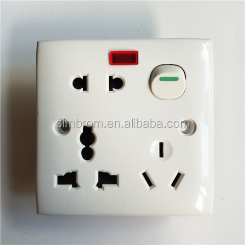 Electric switch socket bangladesh MA switch socket wall sockets and switches universal